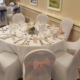 wedding-venue-decorations-birmingham-amy-victoria-lace-sashes-bowl-centrepieces