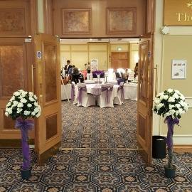 wedding-venue-decorations-birmingham-amy-victoria-rose-trees-purple-and-silver